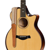 "Taylor 2.5"" Vegan Leather Guitar Strap Tan"