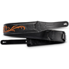 """Taylor Nouveau 2.5"""" Embroidered Leather Guitar Strap"""