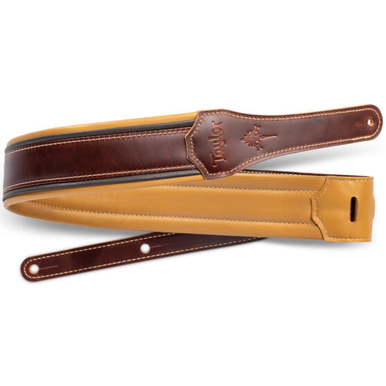 """Taylor Ascension 2.5"""" Leather Guitar Strap"""