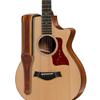 "Taylor Century 2.5"" Leather Guitar Strap Medium Brown"