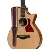 "Taylor Century 2.5"" Leather Guitar Strap Cordovan"