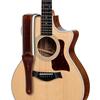 "Taylor Renaissance 2.5"" Leather Guitar Strap Cordovan"