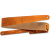 """Taylor 2.5"""" Embroidered Suede Guitar Strap Honey Gold"""
