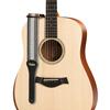 "Taylor 2"" Academy Jacquard Leather Guitar Strap White/Black"