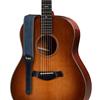 """Taylor Blue Denim 2"""" Guitar Strap Gold Logo"""