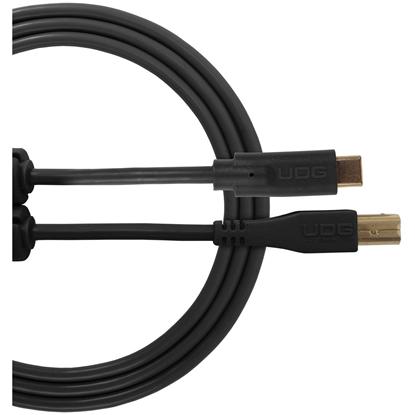 UDG Ultimate USB 2.0 C-B Black Straight