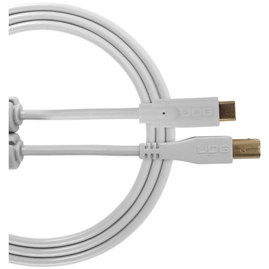UDG Ultimate USB 2.0 C-B White Straight