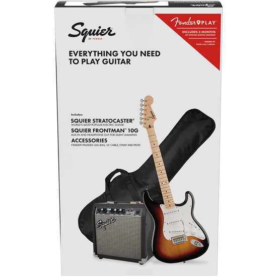 Squier FSR Stratocaster® Pack 3-Color Sunburst