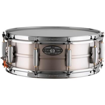 "Pearl Sensitone Heritage Alloy 14""x5"" Aluminum Snare"