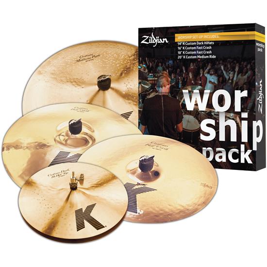 Zildjian K Custom Worship Cymbal Pack