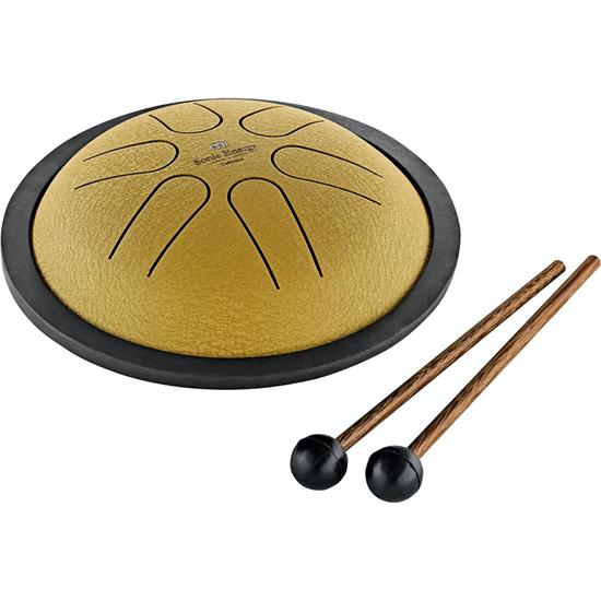 Meinl Mini Steel Tongue Drum B Major Gold