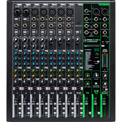 Mackie ProFX12v3 Professional Effects Mixer With USB